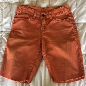 Levi's vintage shorts size 24